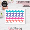 Watermelon Stickers - Icons Collection Stickers