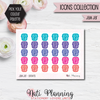 Jam Jar Stickers - Icons Collection Stickers
