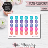 Honey Stickers - Icons Collection Stickers