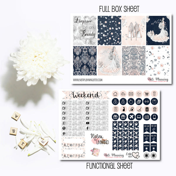 Sheer Elegance - INDIVIDUAL Sticker Sheets