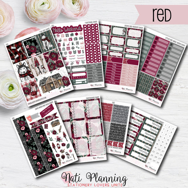 Little Red Riding Hood - INDIVIDUAL Sticker Sheets