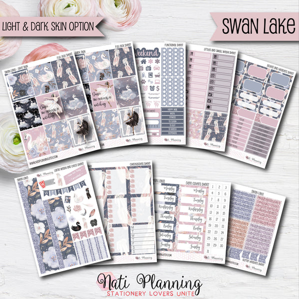 Swan Lake - INDIVIDUAL Sticker Sheets