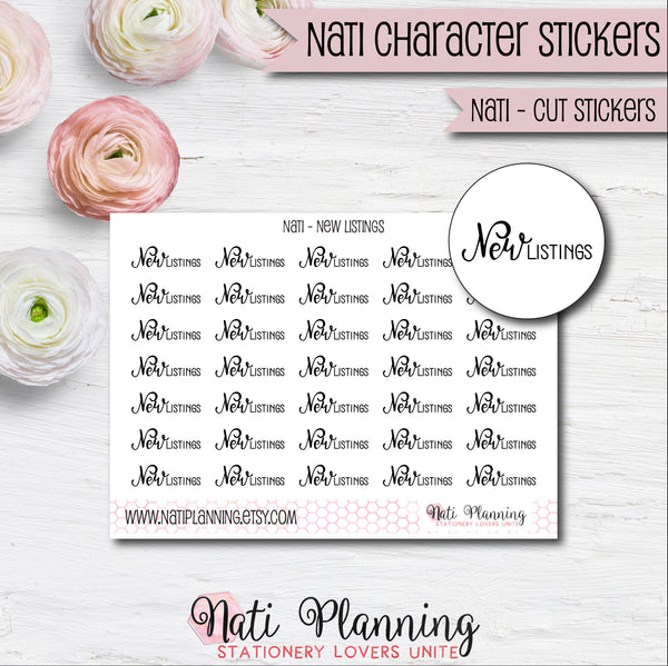 Nati - New Listings Stickers