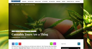 Recommend.com: Cannabis Tours Are A Thing