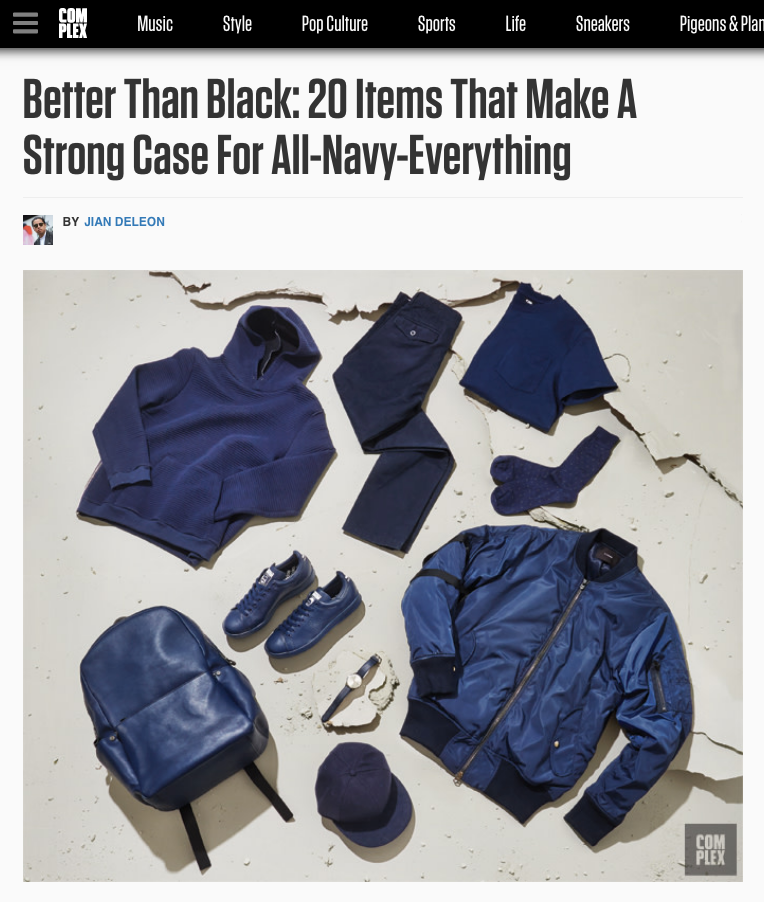 Better Than Black: A Strong Case For All-Navy-Everything