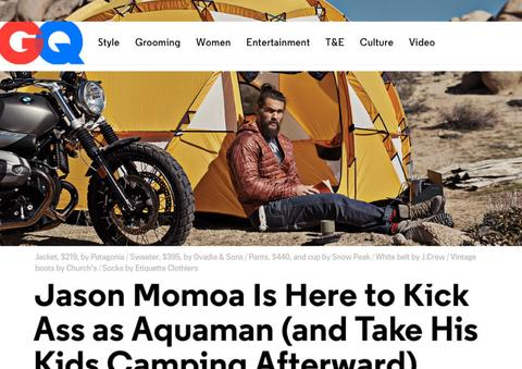 GQ - Jason Momoa Is Here To Kick Ass