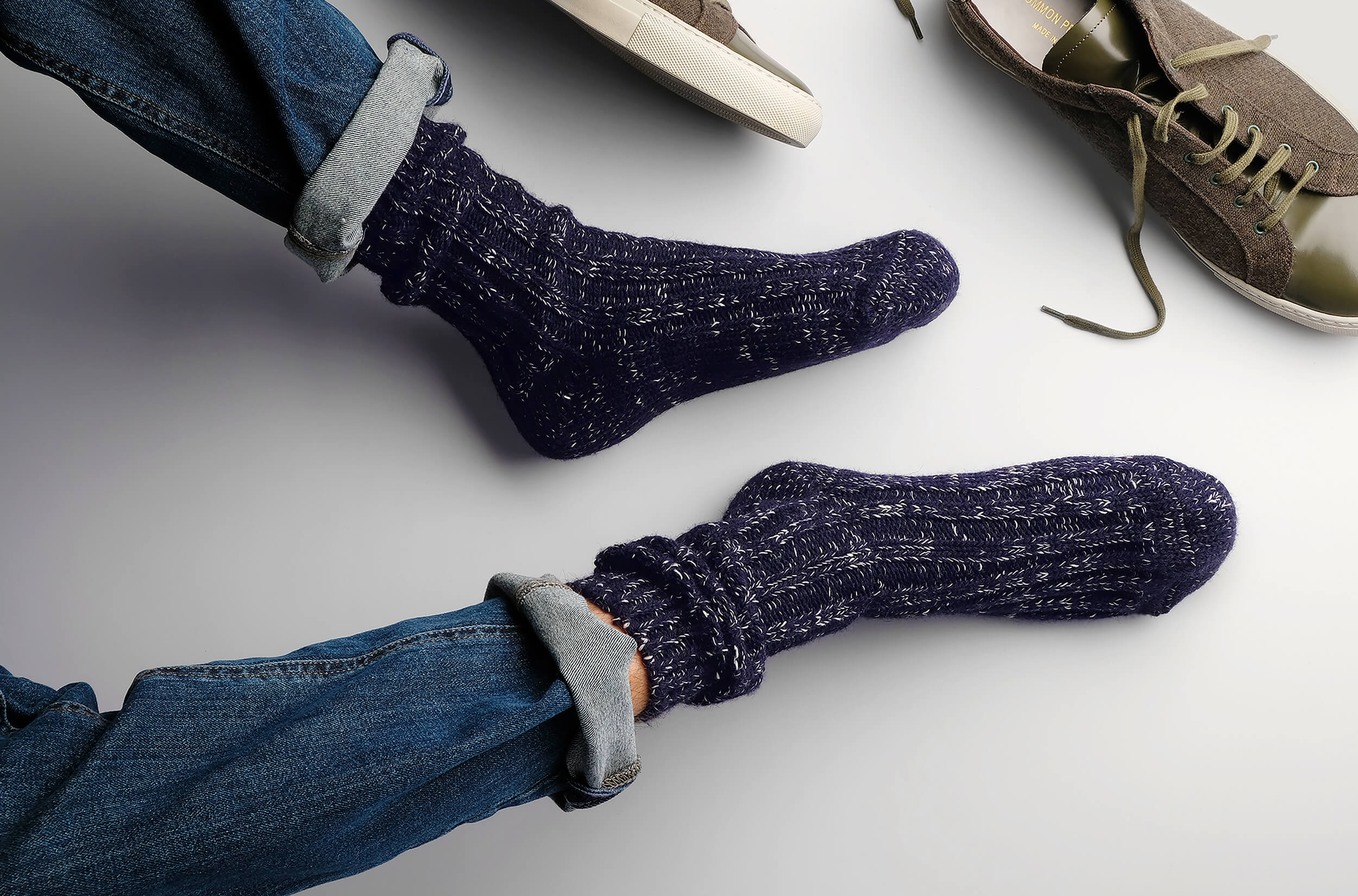 Men's Finest Socks - Crafted in Italy