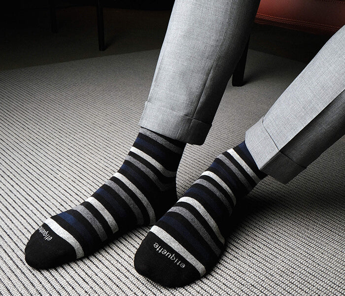 Best mens socks and novelty luxury socks for men in rich colors and patterns - Made in Italy by etiquette clothiers