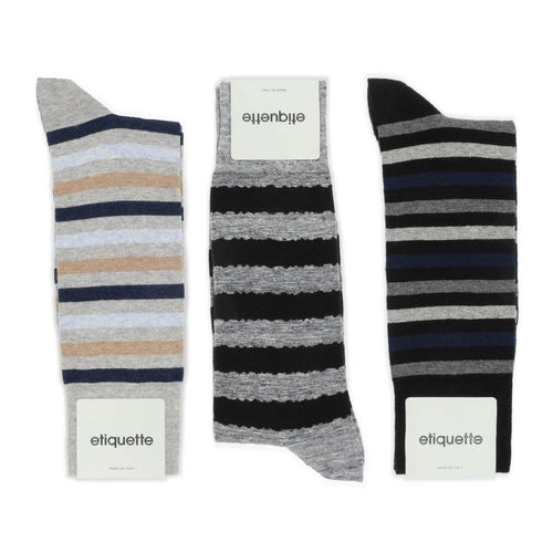 All About Stripes Men's Socks Gift Box  - Alt view
