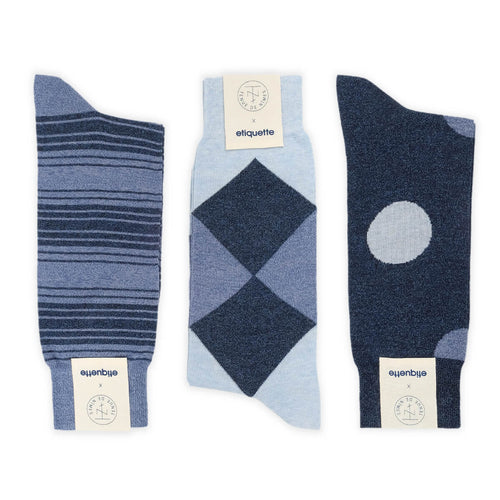 Tenue de Nimes Men's Socks Gift Box  - Alt view