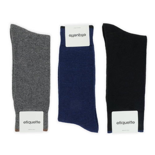 Classic Cashmere Men's Socks Gift Box  - Alt view