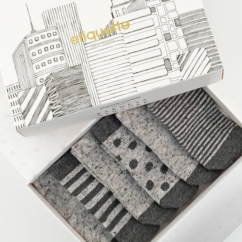 Barneys x Etiquette NY Baby Socks Gift Box  - Alt view