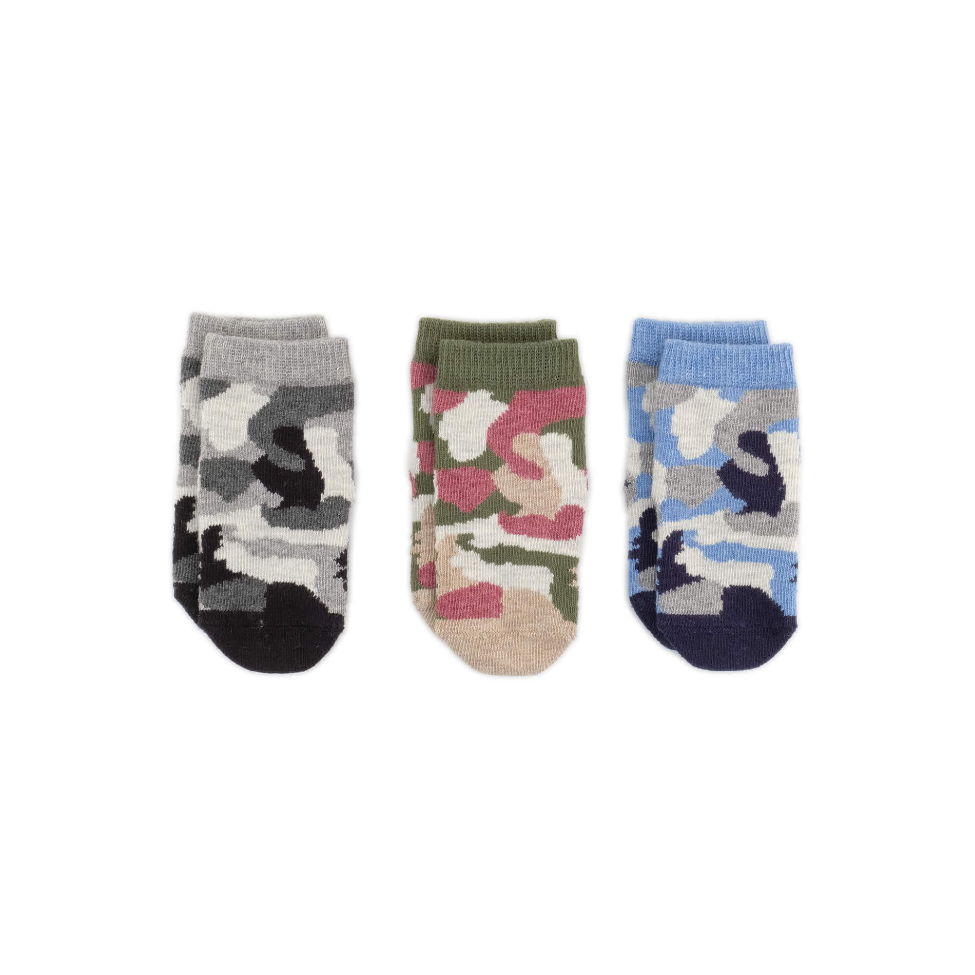Baby Socks - Camouflage Baby Socks Gift Box - Multi⎪Etiquette Clothiers