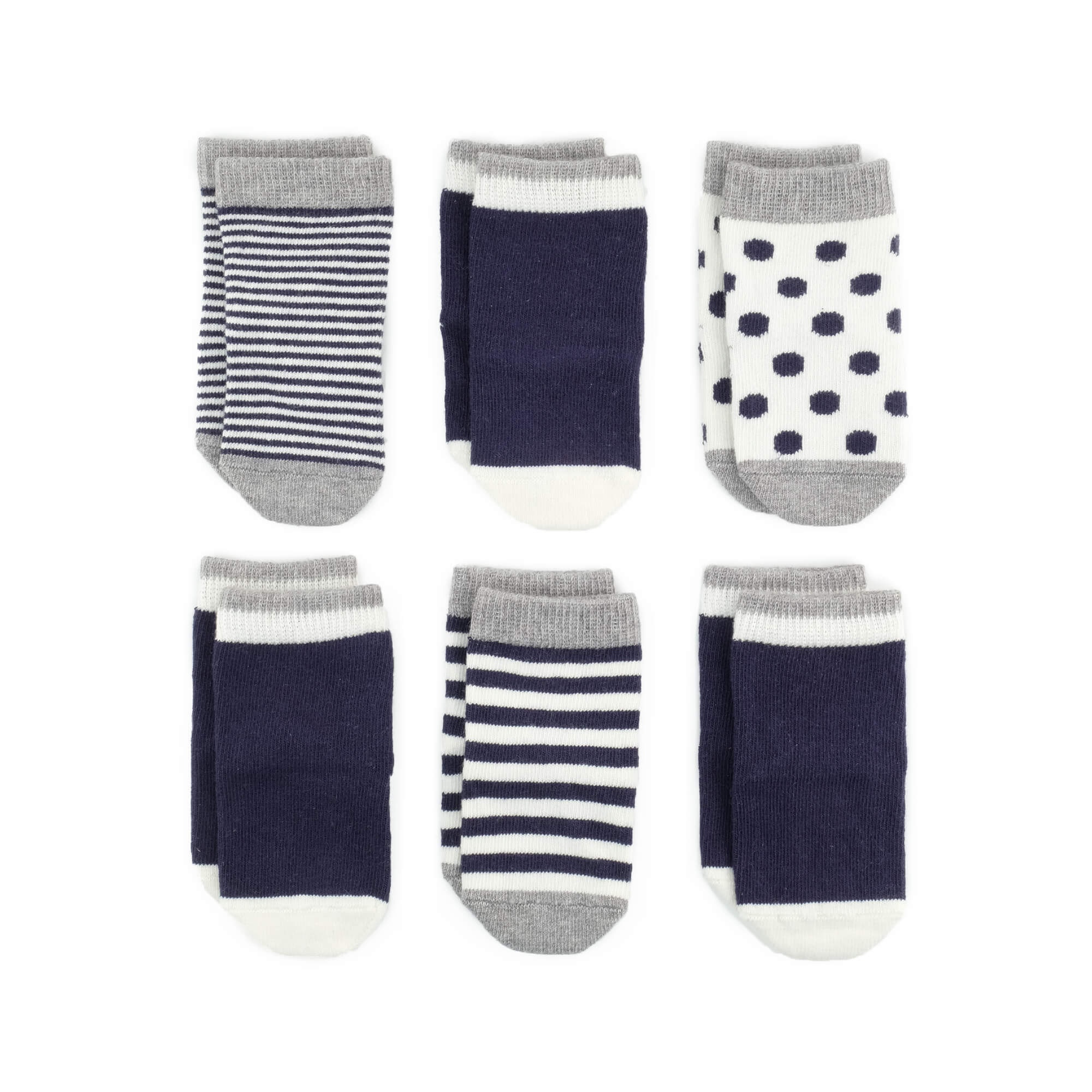 Baby Socks - Classic Sky Baby Socks Gift Set - Blue⎪Etiquette Clothiers