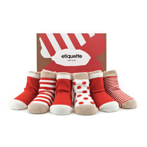 Classic Earth Baby Socks Gift Box