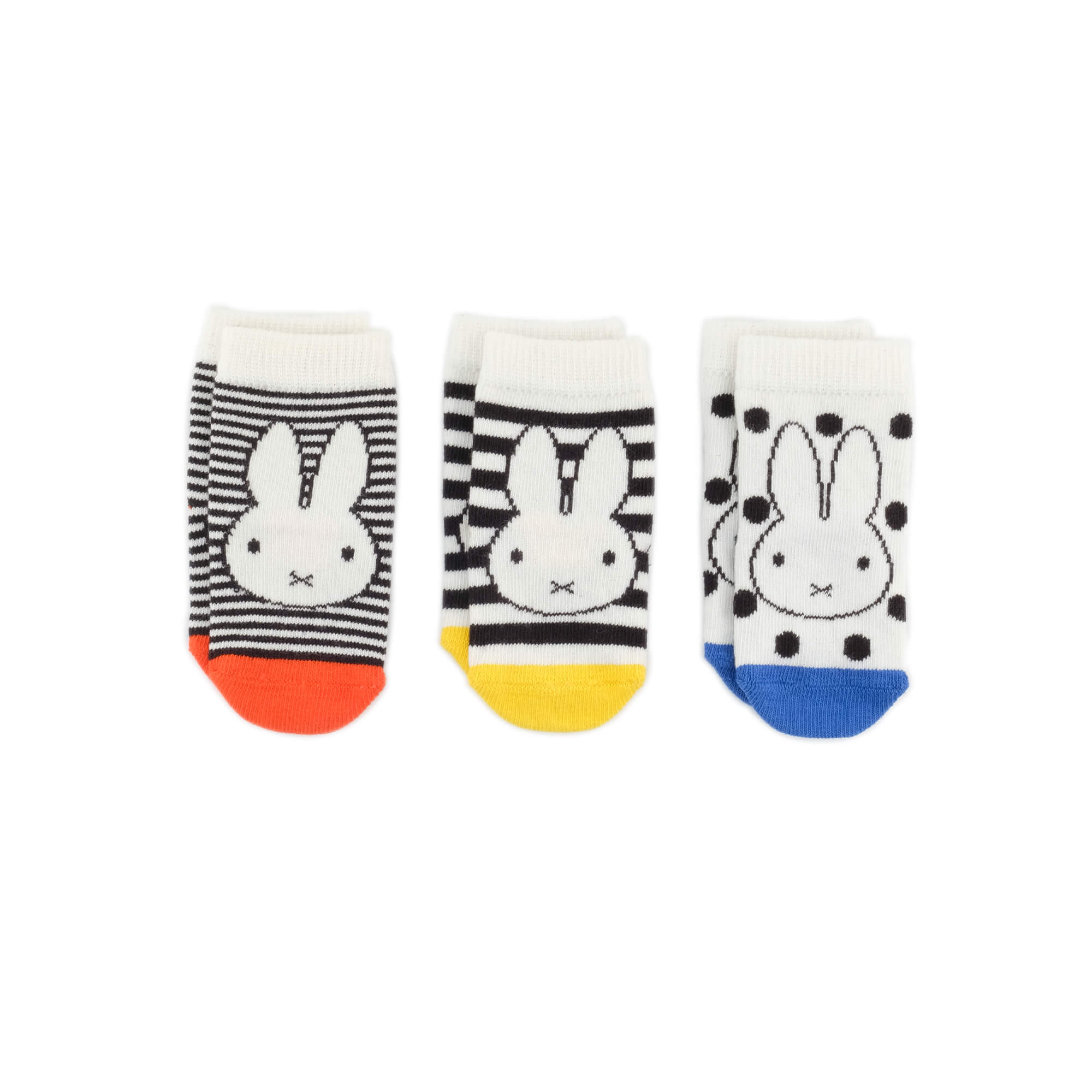 Baby Socks - Miffy x Etiquette Classic Baby Socks Gift Box - Multi⎪Etiquette Clothiers