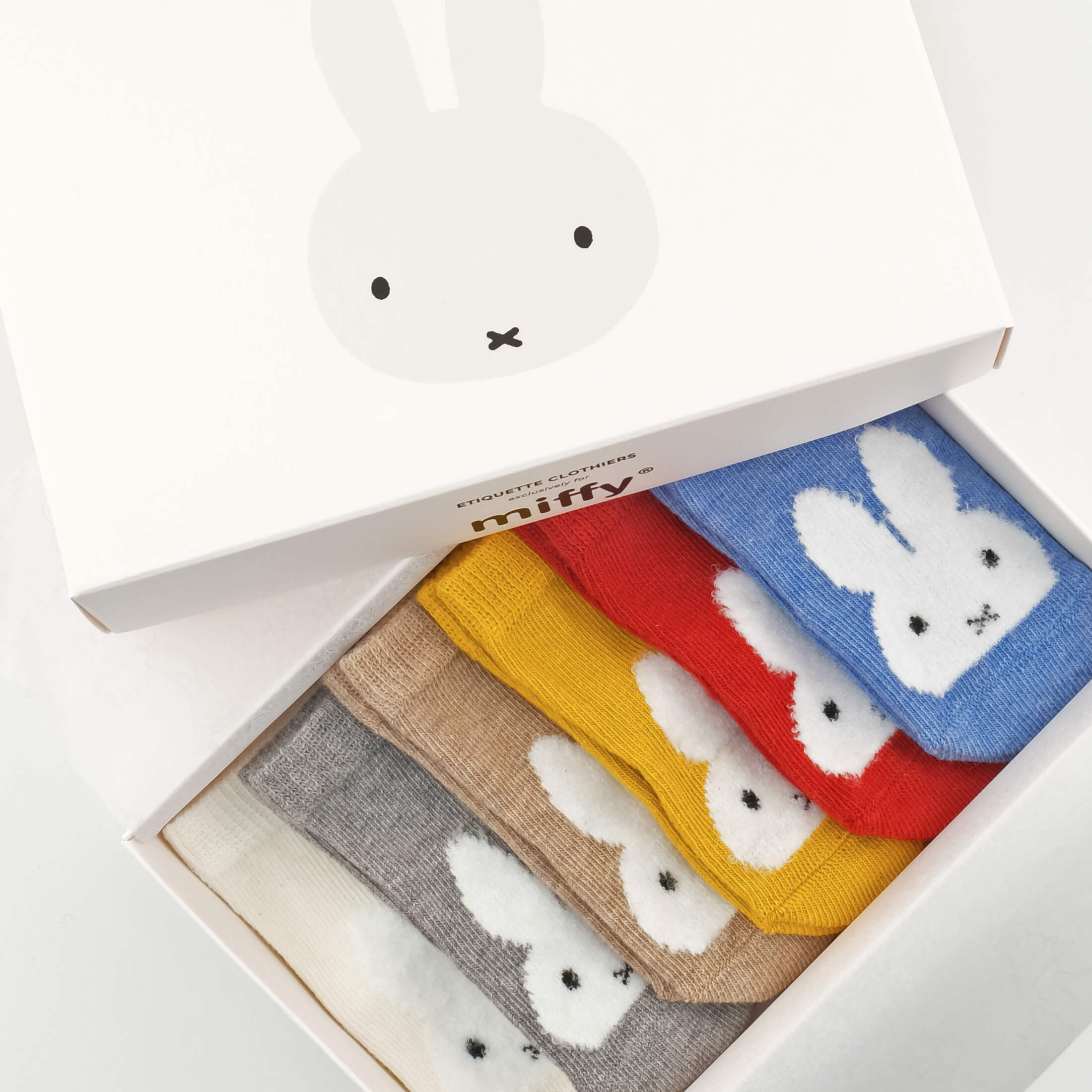 Baby Socks - Miffy x Etiquette Vintage Baby Socks Bundle - Multi⎪Etiquette Clothiers