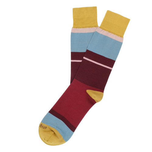 Lisbon Stripes Men's Socks