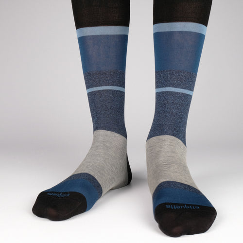 Lisbon Stripes Men's Socks  - Alt view