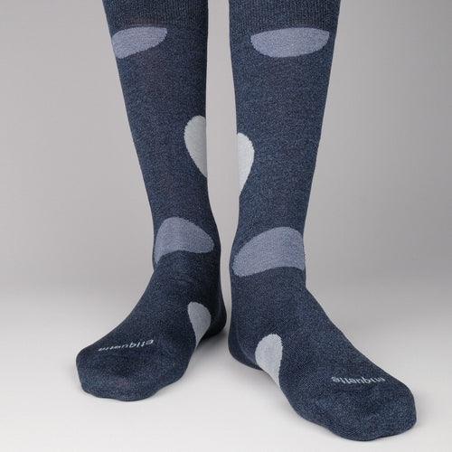 Etiquette x TDN Big Dots Men's Socks  - Alt view
