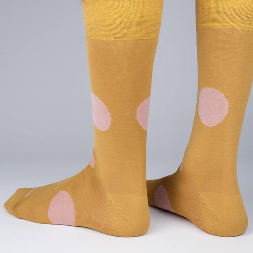 Big Dots Men's Socks  - Alt view