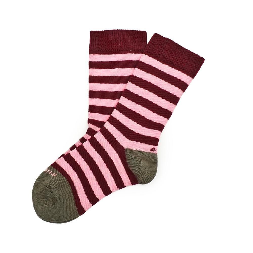 Abbey Stripes - Pink Heather - Image 1