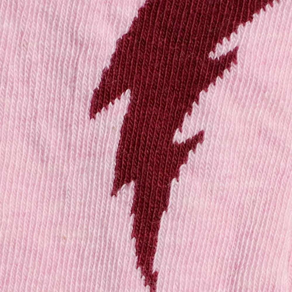 Kids Socks - Bolt - Pink⎪Etiquette Clothiers
