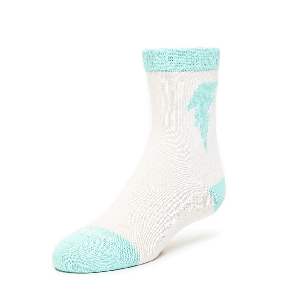 Kids Socks - Bolt - Ecru⎪Etiquette Clothiers