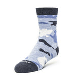 Kids Socks - Camouflage - Blue Heather⎪Etiquette Clothiers