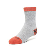 Kids Socks - Tri Pop - Heather Grey⎪Etiquette Clothiers