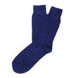 Cashmere Boot Ribbed - Dark Blue - Thumb Image 1