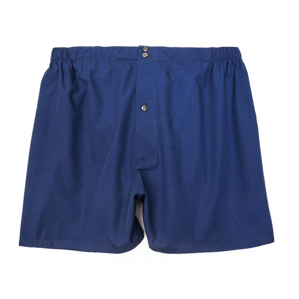 Luxury Boxer Shorts - Indigo Blue - Image 1