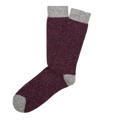 Tweed Rib Men's Socks