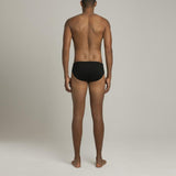 Mens Underwear - Men's Astor Briefs - Black⎪Etiquette Clothiers