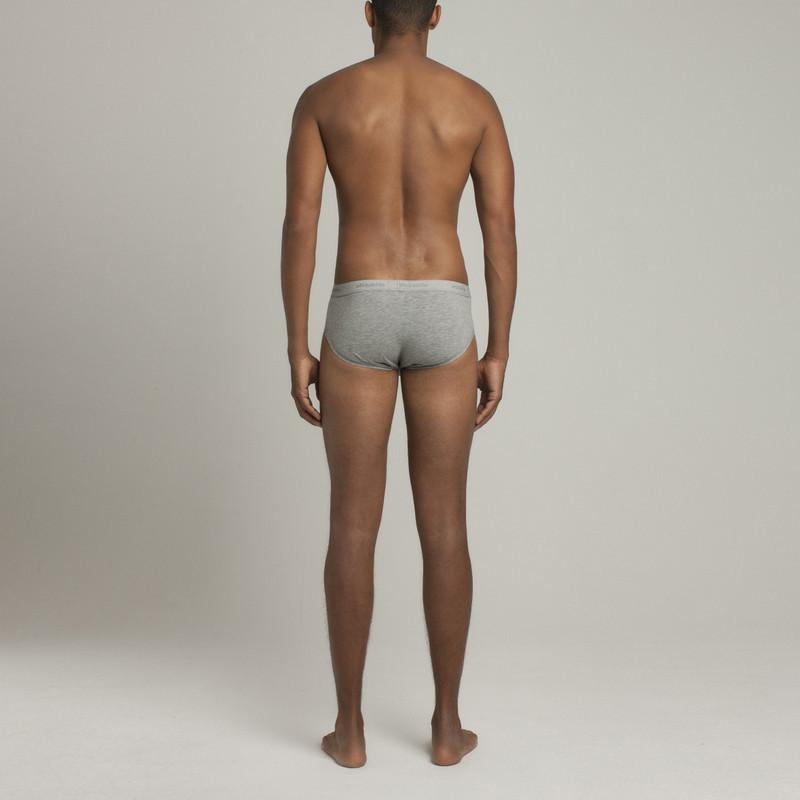 Mens Underwear - Men's Astor Briefs - Grey⎪Etiquette Clothiers