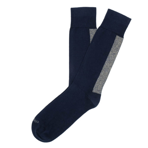 Beat It Metallic Back Stripe Men's Socks