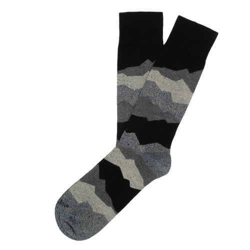Beat It Metallic Seismic Men's Socks