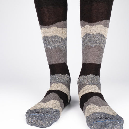 Beat It Metallic Seismic Men's Socks  - Alt view