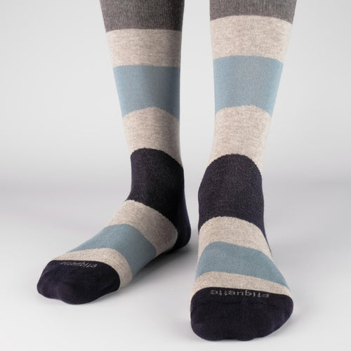 Comporta Stripes Men's Socks  - Alt view