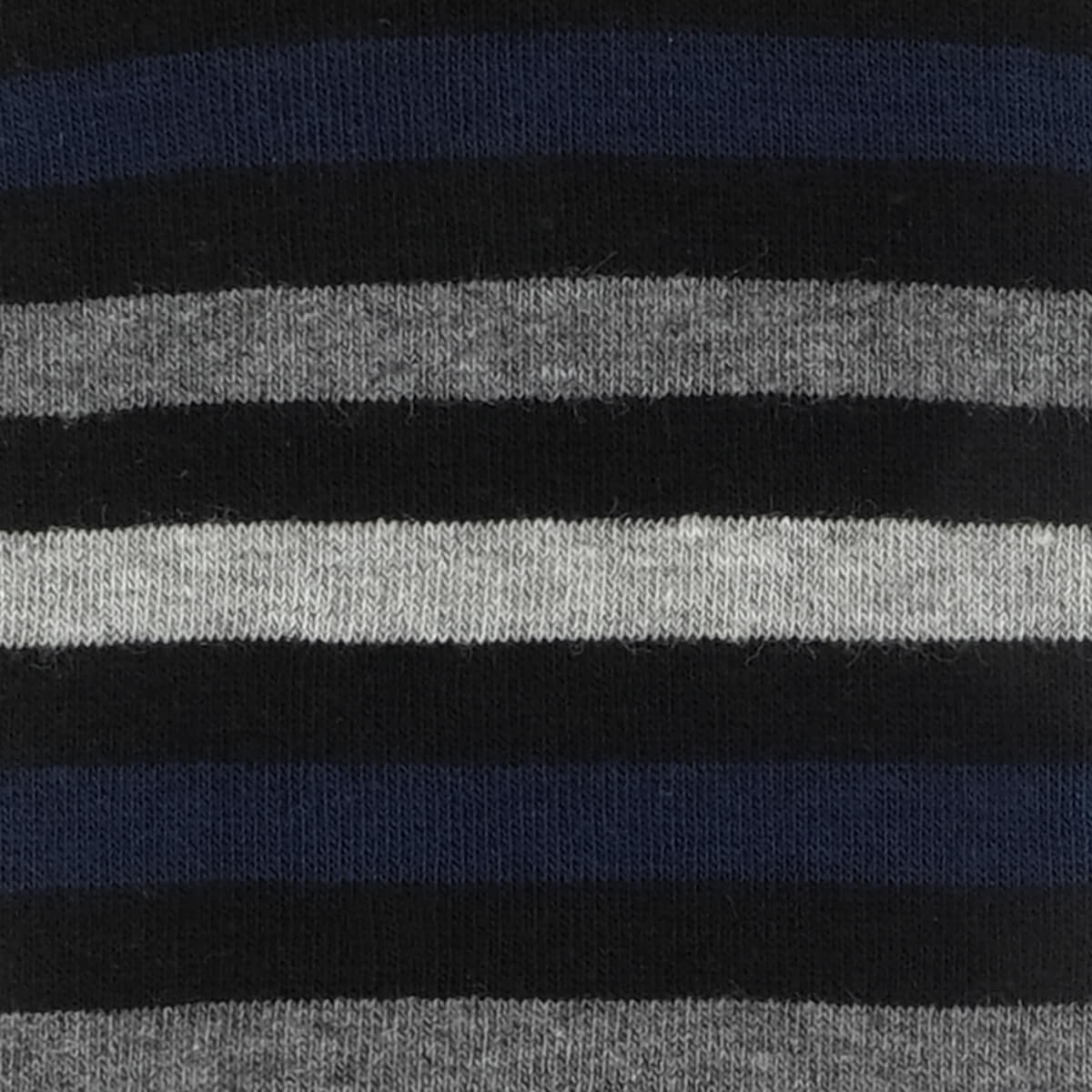 Mens Socks - Crosswalk Stripes Men's Socks - Black⎪Etiquette Clothiers