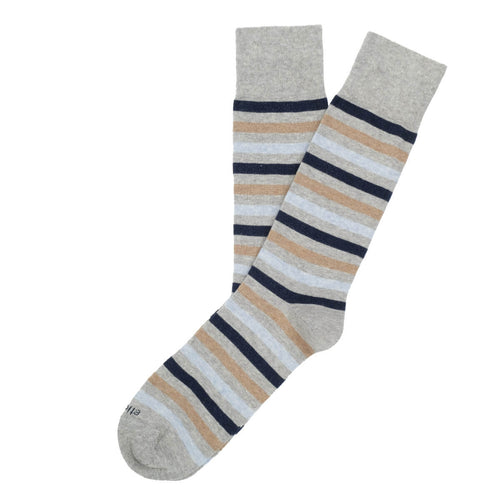 Crosswalk Stripes Men's Socks