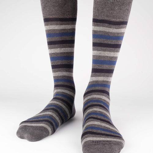 Crosswalk Stripes Men's Socks  - Alt view