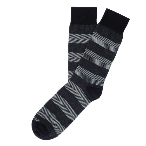 Herringbone Stripes Men's Socks