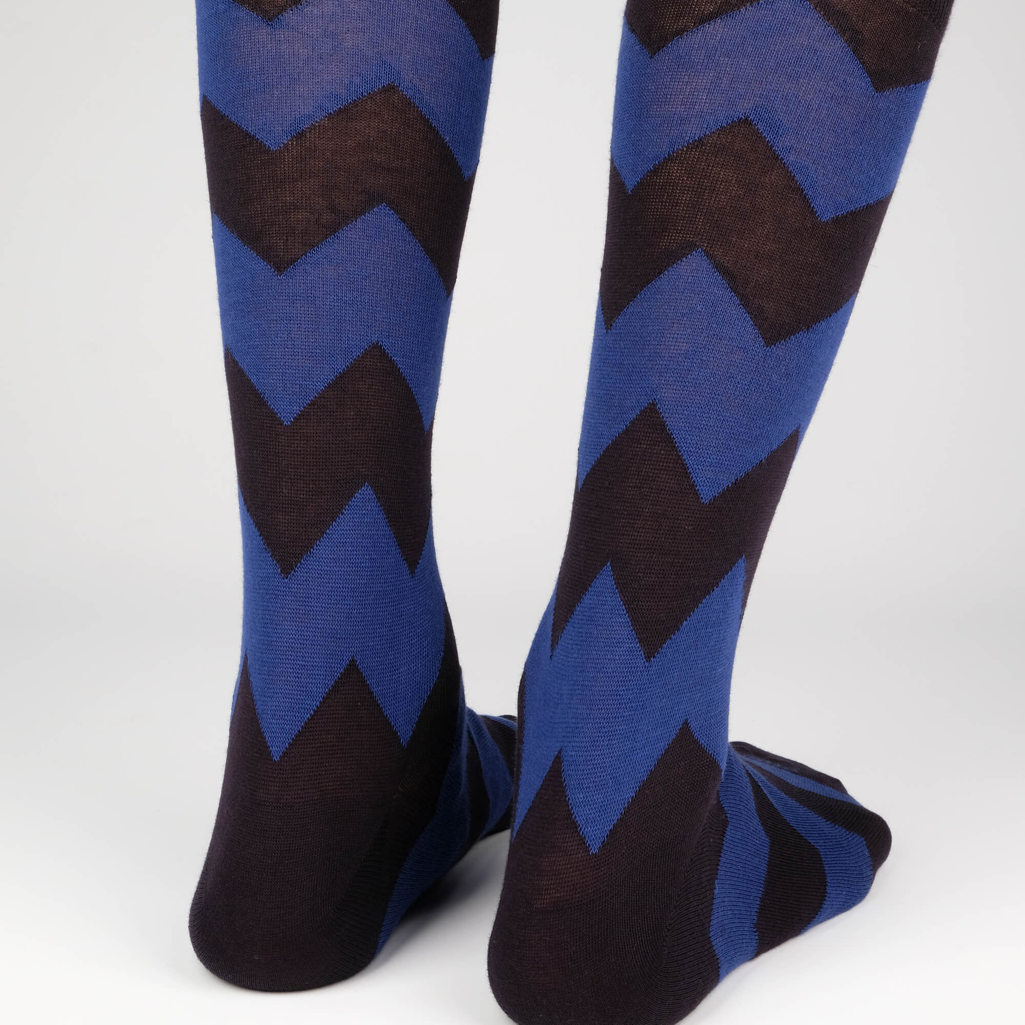 Mens Socks - Matterhorn Stripes - Dark Blue⎪Etiquette Clothiers
