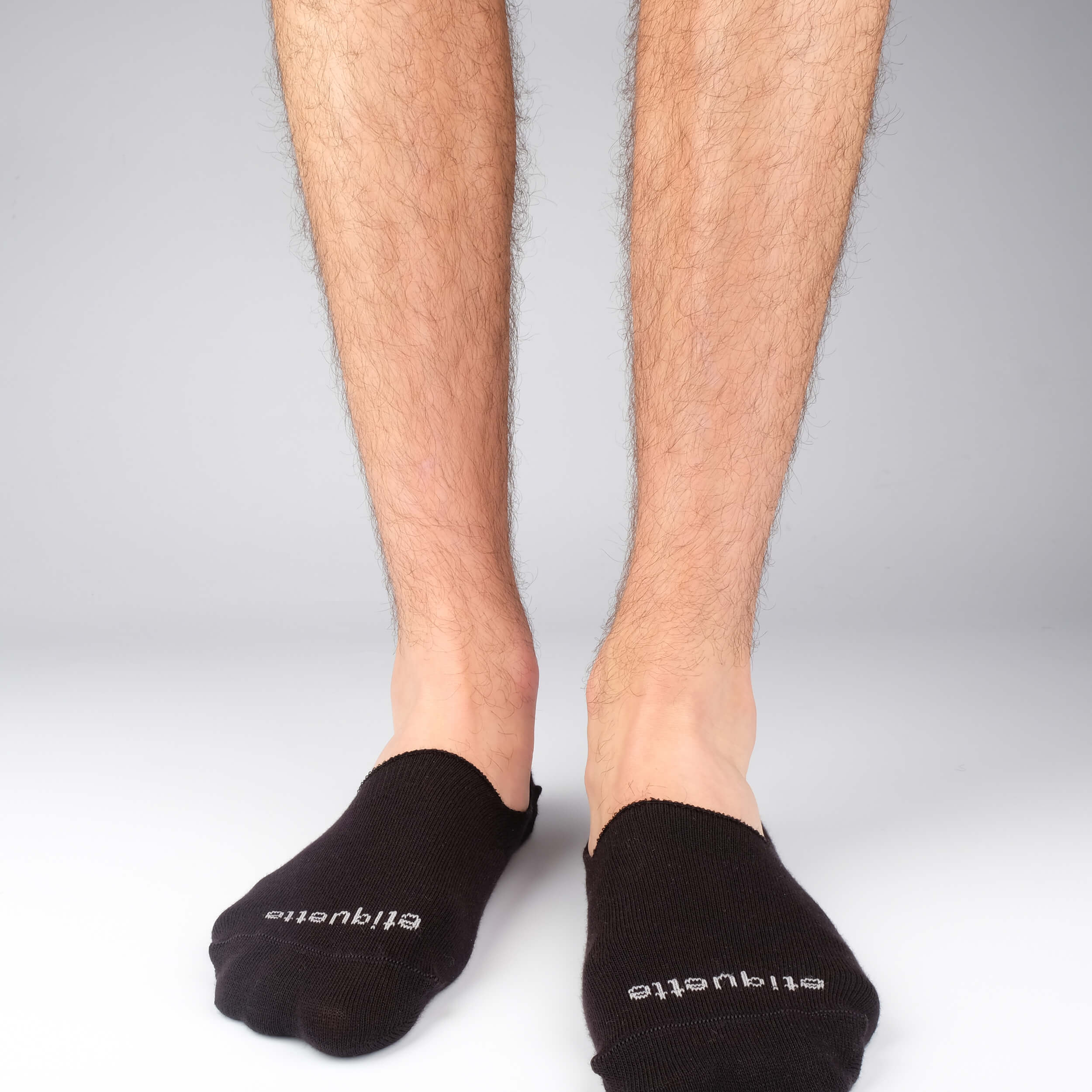 Mens Socks - Men's No Show Socks - Black⎪Etiquette Clothiers