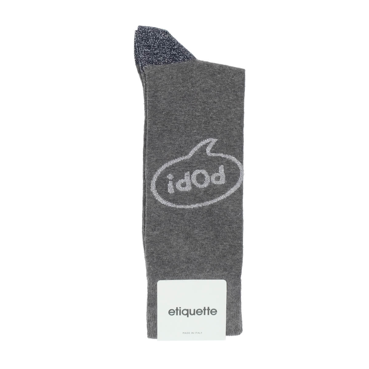 Mens Socks - Popist Men's Socks - Dark Grey⎪Etiquette Clothiers