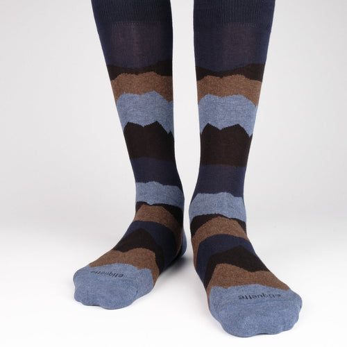 Seismic Men's Socks  - Alt view