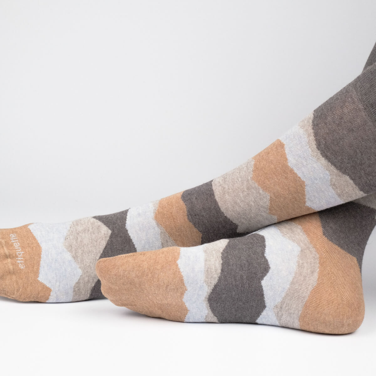 Mens Socks - Seismic Men's Socks - Dark Grey⎪Etiquette Clothiers