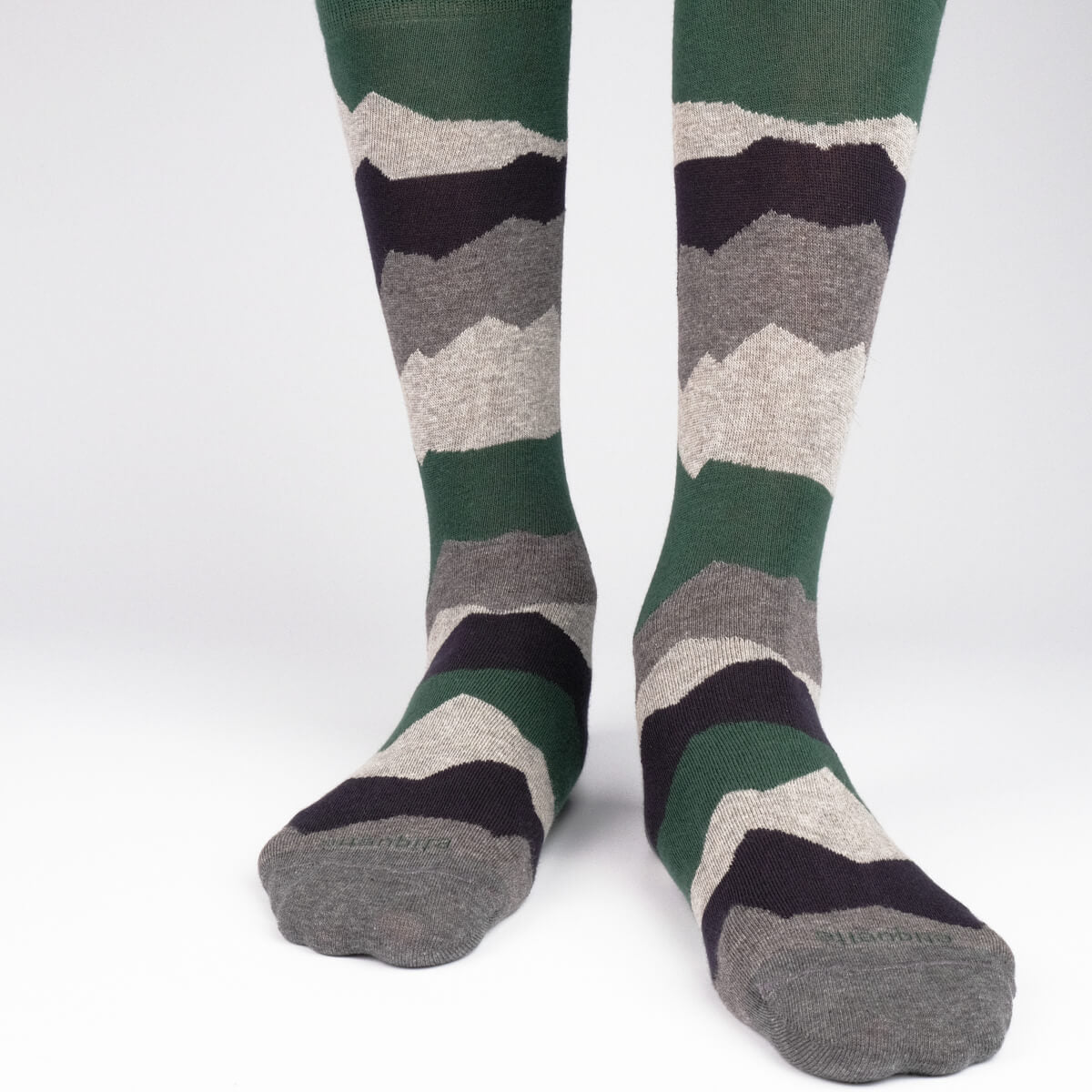 Mens Socks - Seismic Activity Men's Socks Gift Box - Green⎪Etiquette Clothiers