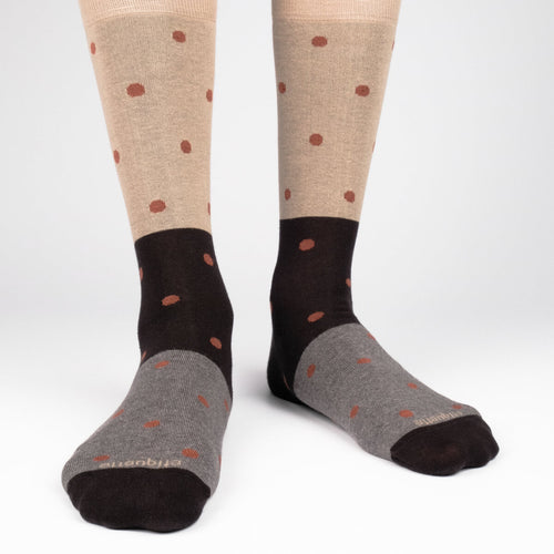 Tri Polka Men's Socks  - Alt view